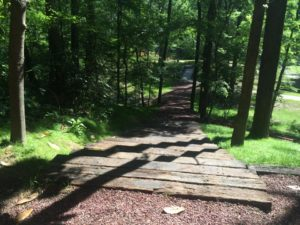 Railroad ties steps